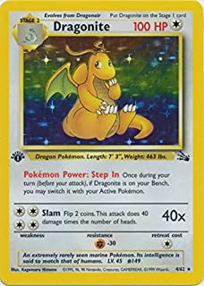Best dragonite holo 1st edition Reviews