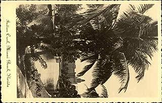 Indian Creek View toward Roney Plaza Hotel Miami Beach, Florida Original Vintage Postcard