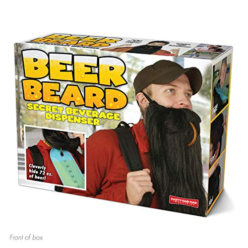 """Prank Pack """"Beer Beard"""" - Wrap Your Real Gift in a Prank Funny Gag Joke Gift Box - by Prank-O -..."""