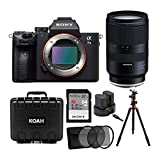 Sony a7 III Full Frame Mirrorless Interchangeable-Lens Camera (Body Only) with Tamron 28-75mm f/2.8 Di III RXD Lens for Sony E Bundle (7 Items)
