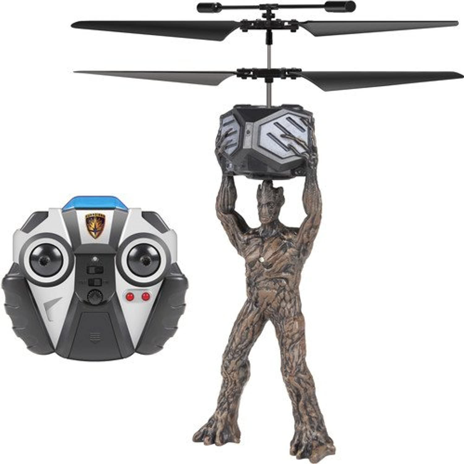 World Tech Toys 34872 2 CH Groot Guardians of The Galaxy IR Helicopter