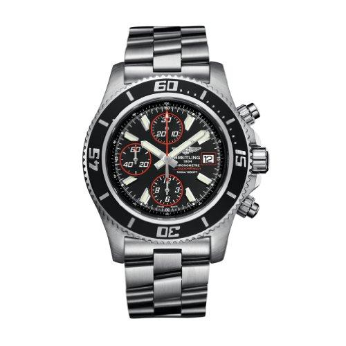 Breitling Superocean cronografo II da uomo in acciaio orologio