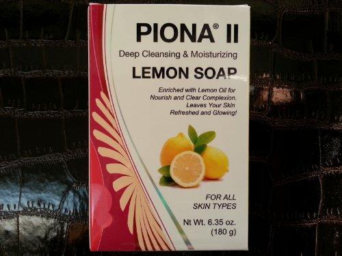 Piona II Deep Cleansing & Moisturizing Lemon Soap 6.35 oz