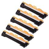 5 ECS Cartucho de tóner láser negro compatible TN1050 para impresora Brother DCP-1510 DCP-1512 HL-1110 HL-1112 MFC-1810