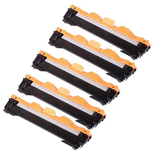 5 ECS - Cartucho de tóner láser compatible con impresoras Brother DCP-1510 DCP-1512 HL-1110 HL-1112 MFC-1810 (5 unidades)