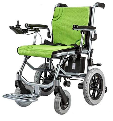 Chair-yd Leichter Rollstuhl, Elektrorollstuhl offen/schnell zusammenklappbar Leichtester Elektrorollstuhlantrieb mit Elektroantrieb oder manuellem Rollstuhl