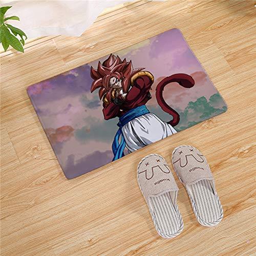 Lee My Dragon Ball Z Alfombra Diseño Funny Puerta esteras Felpudo Entrada Floor Mat Goku Dragon Ár