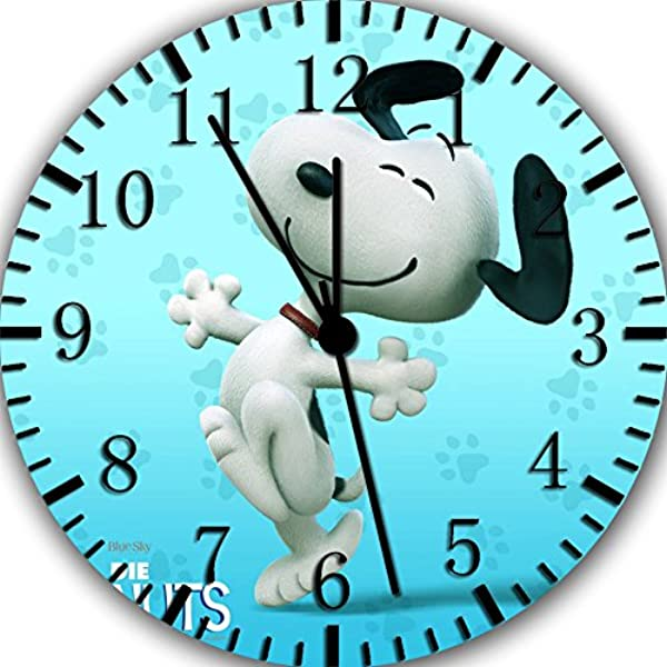 Borderless Snoopy Frameless Wall Clock E372 Nice For Decor Or Gifts