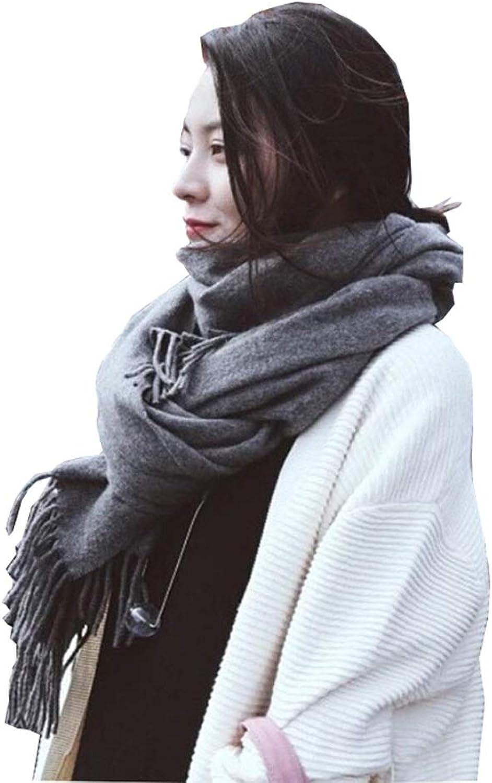 Women's Scarves  Winter Long Shawl Warm Dualuse Scarf L176229  30CM