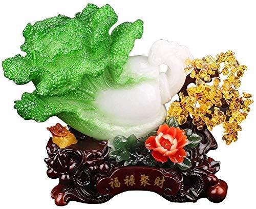 Accesorios para el hogar Citrino Jade Bonsai Feng Shui Repollo Decoración la suerte Árbol del dinero Obras arte para el hogar La positividad y la mejora la memoria es adecuada para la apertura tiend