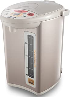 ZOJIRUSHI 象印 CD-WBH40C-CT 象印电热水瓶电热水壶 4L(微电脑四段式保温设定 、除氯再沸腾)粉棕色