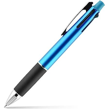 三菱鉛筆 多機能ペン ジェットストリーム 4&1 0.7 ライトブルー MSXE510007.8
