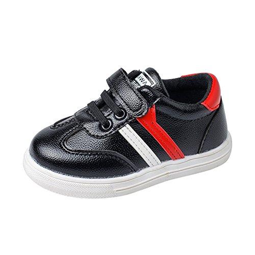 Chaussures de Gymnastique Mixte Bébé, Manadlian Garçon Fille Chaussures Respirantes Sport Baskets Antidérapant Chaussures de Basketball Enfants