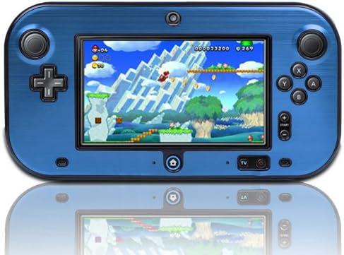 TNP Wii U Gamepad Case (Blue) - Plastic + Aluminium Full Body Protective Snap-on Hard Shell Skin Case Cover for Ninte...