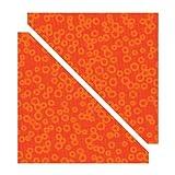 Sizzix Bigz Troquel Media triángulos cuadrados 4 1/2 'Assem.Square (B&W)