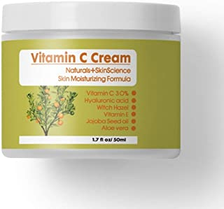 Sponsored Ad - 30% VITAMIN C Skin moisturizing Formula + Hyaluronic Acid + Witch Hazel + Vitamin E Jojoba Seed Oil + Aloe ...