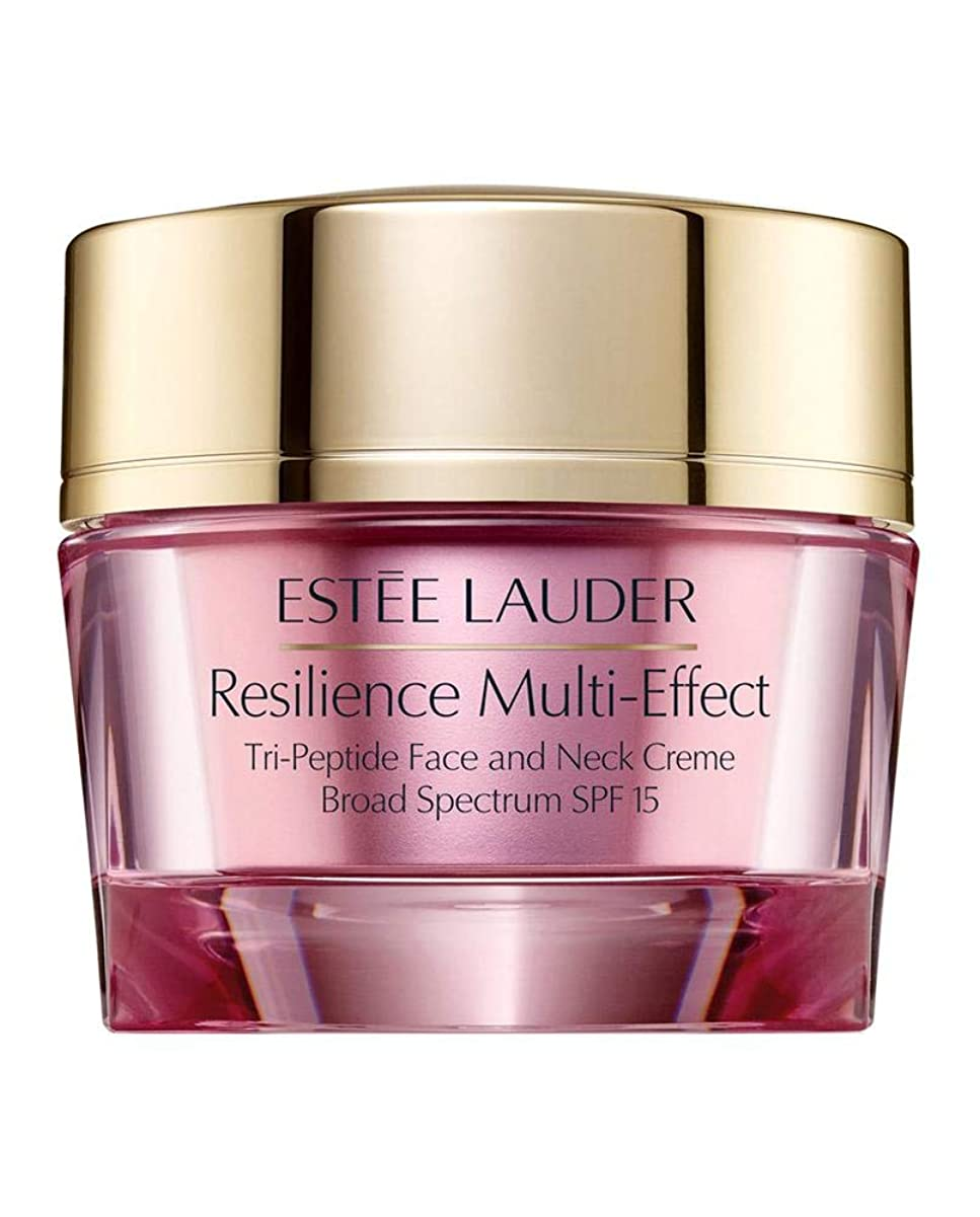 猟犬ペンくしゃみエスティローダー Resilience Multi-Effect Tri-Peptide Face and Neck Creme SPF 15 - For Dry Skin 50ml/1.7oz並行輸入品