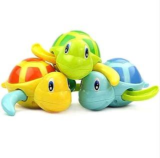 Baby Bathing Bath Swimming Tub Pool Toy Cute Wind Up Turtle Animal Bath Toys Set for 3-12 Years Old Kids Boys Girls(3 PCS,...