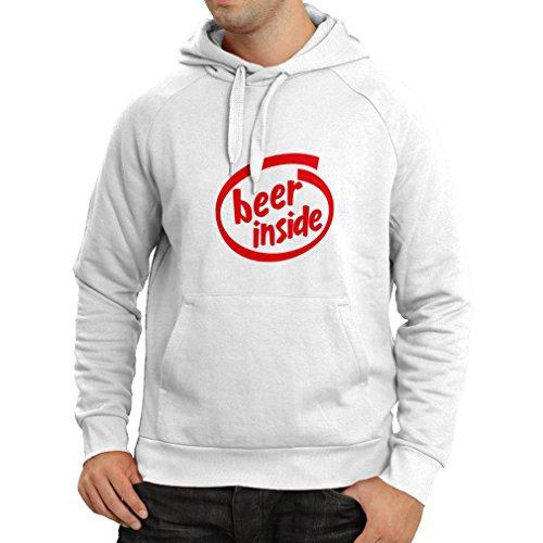 lepni.me Capuchontrui bier binnen - voor bierliefhebbers, grappig logo, humoristisch geschenk, kroeg, bar, feestkleding
