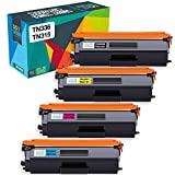 Do it Wiser Compatible Toner Cartridge for Brother TN336 TN331 TN315 TN310 for Brother HL-L8350CDW MFC-L8850CDW MFC-9970CDW MFC-L8600CDW HL-4150CDN HL-L8350CDWT HL-L8250CDN HL-L8250CDW (4-Pack)
