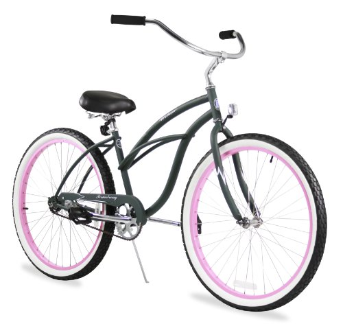 Firmstrong Urban Lady Single Speed Beach Cruiser Bicycle,...