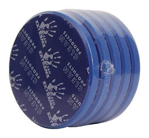 Cleanproducts Excentrique Eponge de Polissage Medium-Retikuliert Bleu 165/20 mm - Sertie 5 Pcs - au Polissage Voiture à la Préparation de la Voiture Fahrzeugaufbereitung