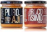 Ají amarillo y crema de rocoto | Pack Ahorro | Perú Classic | 100% naturales | Sin aditivos ni conservantes | Sin gluten | Apto para veganos