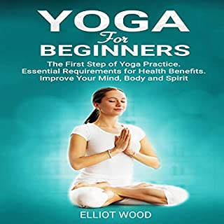 Yoga for Beginners audiobook cover art