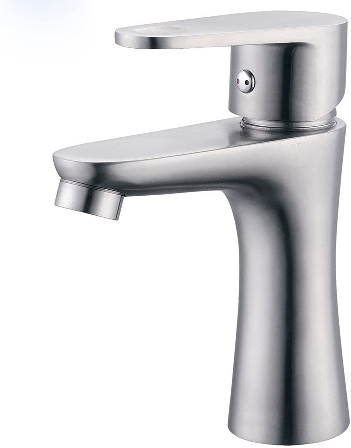 MDRW-Bathroom Basin Tap Mixing Valve Single Hole Stainless Steel Basin Tap Basin Tap Type Single Type Wrench