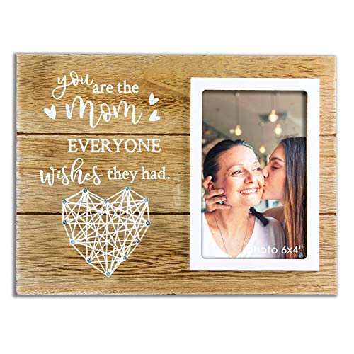 VILIGHT Mom Gifts from Daughter Son - Mother's Day Picture Frame - Gift for Stepmom and Mother in Law - You are The Mom Everyone Wishes They Had - 4x6 Photo
