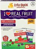 Little Duck Organics, Fruit Snacks Sunny Strawberry Super Berries Organic, 4.2 Ounce