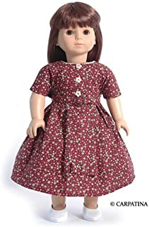 Vintage Style Doll Dress ~ Fits 18