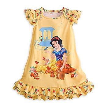 Disney Store Princess Snow White Girl Short Sleeve Nightgown Pajama  7/8