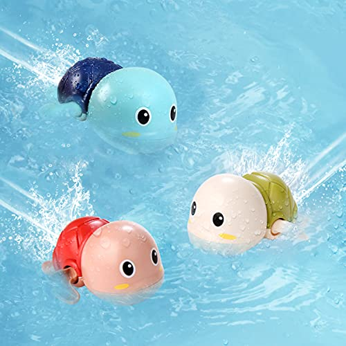 TOHIBEE Bath Toys for 1-5 Year Old Boy Girls Gifts...