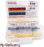AZDelivery Kit de Resistencias 525 piezas, 0 Ohm – 1M Ohm para Arduino con eBook incluido