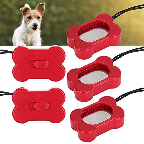【2021 Neujahrsaktion】Einstellbarer Clicker für das Hundetraining, Clicker für das Training von Hunden, leichtes Zubehör für das Training von Haustieren, ABS-Haustiere für Hunde