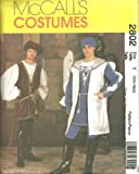 OOP McCall's Renaissance Pattern 2802. Mens Szs S & M Costumes. Chest: 34-40' by McCall's