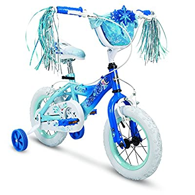 "Huffy 12"" Disney Frozen Elsa Girls Bike, Deep Blue"