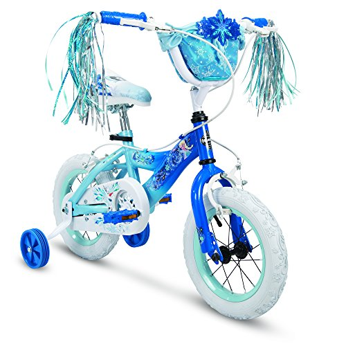 Cheapest Prices! Huffy Disney's Frozen 2 Kids 12 Inch Coaster Bike Bicycle Toy with Training Wheels ...
