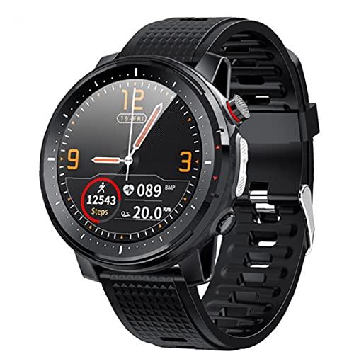 Rrunzfon Inteligente Reloj Bluetooth Pulsera de los Deportes IP68 a Prueba de Agua Pantalla táctil Hombres Mujeres Aptitud del Reloj rastreadores Ajustable Brillo Negro