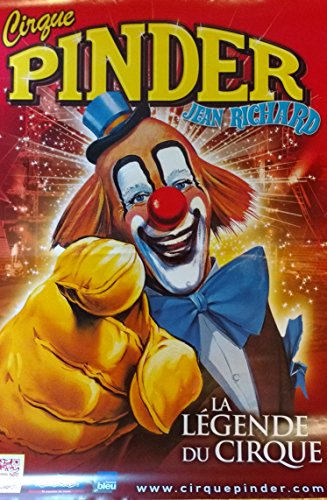 Générique Cirque PINDER - Clown - 60x80cm - Affiche/Poster