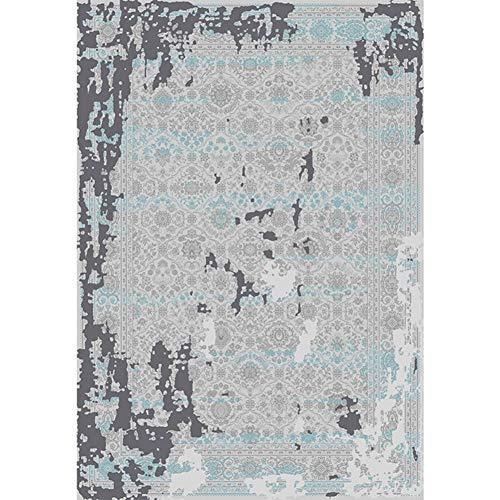 CDZJP Tapijt, turquoise, polyester, voor woonkamer, slaapkamer, café, plafond, anti-waterdicht, absorbeert luidspreker capillaire mat