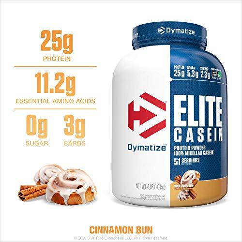 Dymatize精英100%的胶束酪蛋白慢吸波蛋白