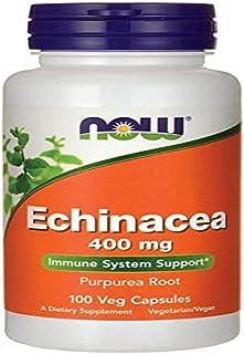 Now Foods Echinacea (Purpurea Root) 400 Mg. 100 Capsules