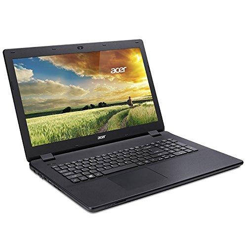 """Acer Aspire ES 17 - Ordenador portátil de 17.3"""" (Intel Celeron N3050, memoria RAM de 4 GB, disco duro de 1 TB, Windows 8) color negro"""