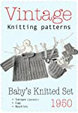 3-piece Baby's Knitted Set - Vintange Knitting Pattern (English Edition)