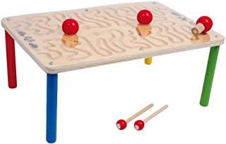 small foot 3355 Skill game  quot Magnetparcours quot  made wood  promotes dexterity and reaction  from years