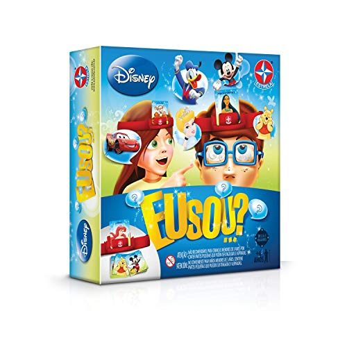 Eu Sou...? Disney 2019 Brinquedos Estrela Multicores