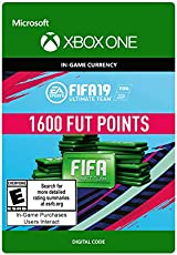 FIFA 19: ULTIMATE TEAM FIFA POINTS 1600 - Xbox One [Digital Code]