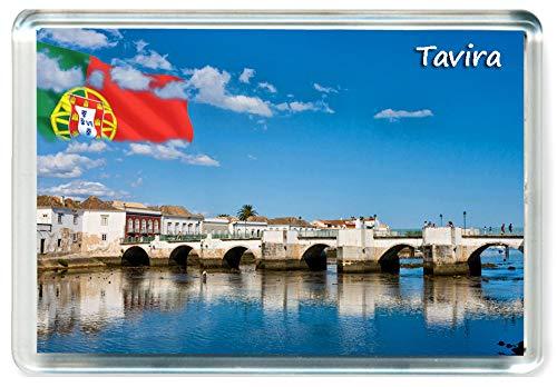 I377 Tavira Jumbo Imán para Nevera Portugal Travel Fridge Magnet